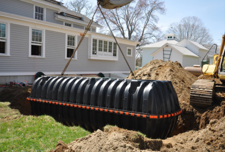 The Process Of Excavation And Septic Tank Installation